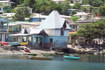 Boats at Soufriere