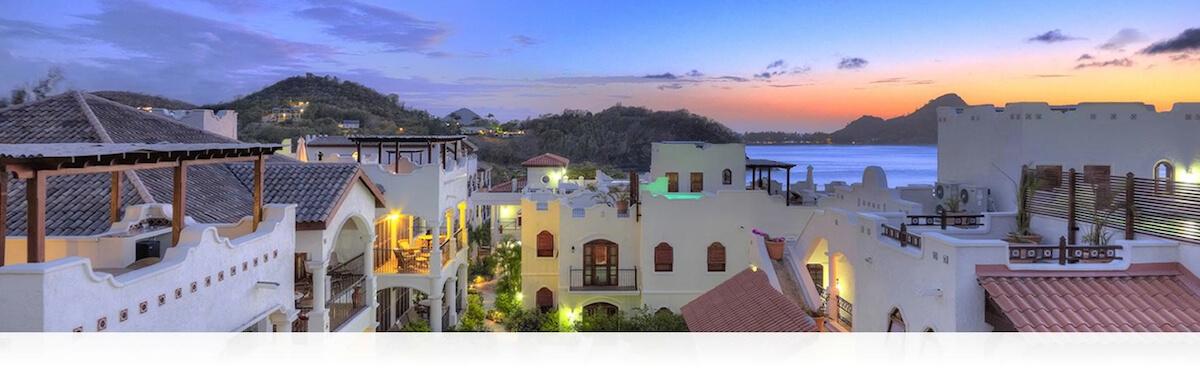 St. Lucia luxury villas - CapMason ourtyardvillas