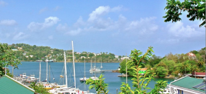 st. lucia oceanview villa 5 Poinsettia