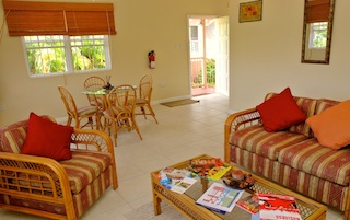 choose from 7 one and two bedroom villa apartments in this special oceanview resort
